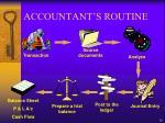 accountant s routine