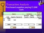 transaction analysis2