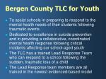 bergen county tlc for youth