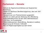 parlament senate