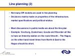 line planning 2
