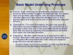 basic model underlying prototype1