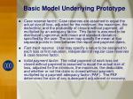 basic model underlying prototype3