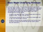 basic model underlying prototype6