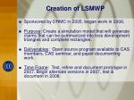 creation of lsmwp
