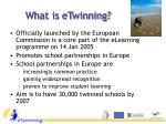 what is etwinning