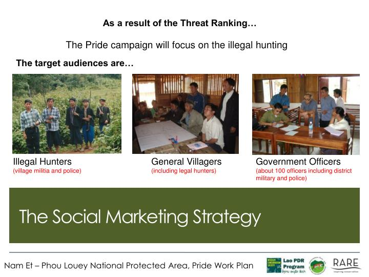 As a result of the Threat Ranking…