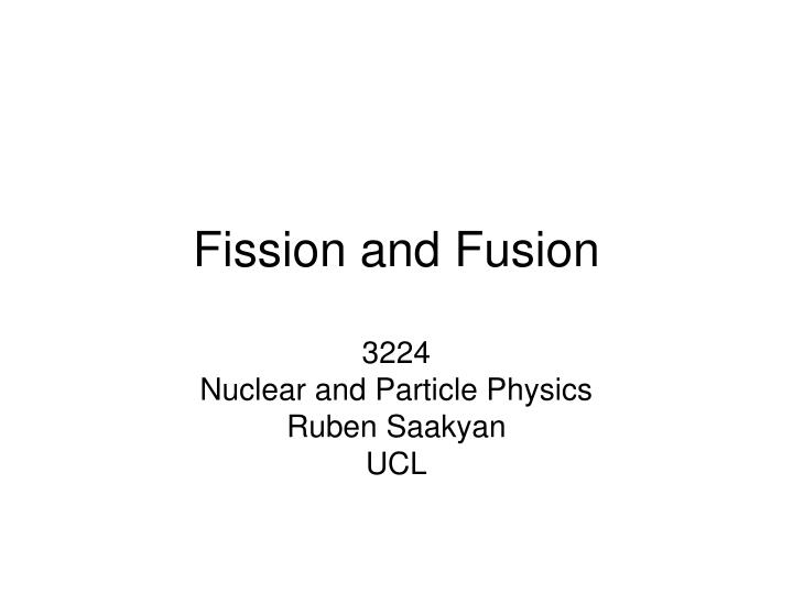 fission and fusion n.