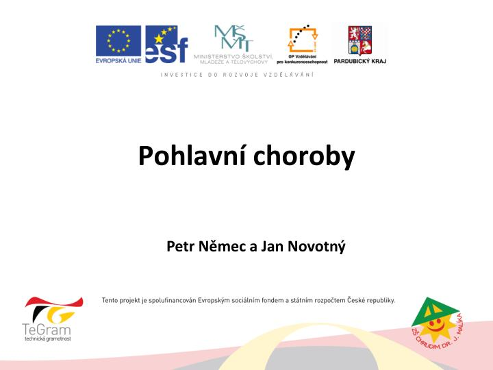 pohlavn choroby n.