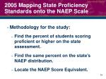 2005 mapping state proficiency standards onto the naep scale1