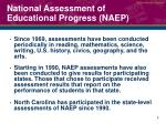 national assessment of educational progress naep1