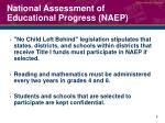 national assessment of educational progress naep3