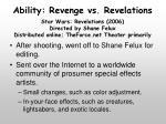 ability revenge vs revelations1