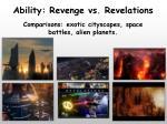 ability revenge vs revelations2