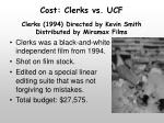 cost clerks vs ucf