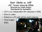 cost clerks vs ucf1
