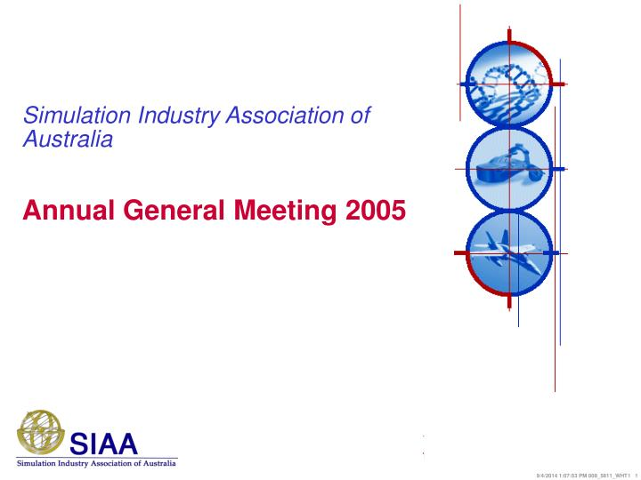 simulation industry association of australia n.