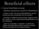 beneficial effects