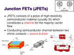 junction fets jfets