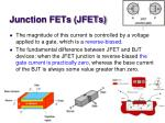 junction fets jfets1