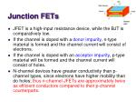 junction fets