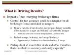 what is driving results3