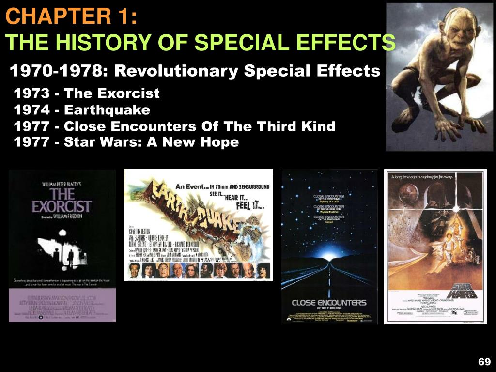PPT - Chapter 1: The History of Special Effects PowerPoint