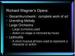richard wagner s opera