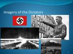 imagery of the dictators