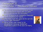 archetype in harry potter 7 the deathly hallows