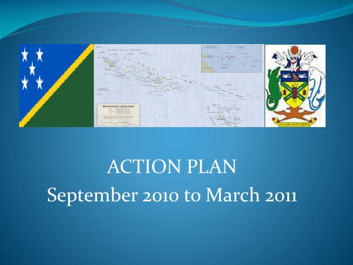 action plan september 2010 to march 2011 n.