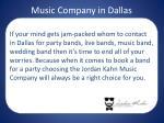 music company in dallas1
