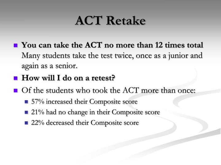 ACT Retake