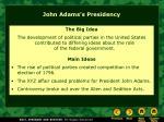 john adams s presidency