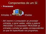 componentes de um si5