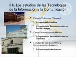 ii k los estudios de las tecnolog as de la informaci n y la comunicaci n