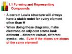1 1 forming and representing compounds17