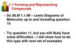 1 1 forming and representing compounds19