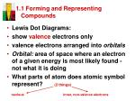 1 1 forming and representing compounds2