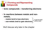 1 1 forming and representing compounds9