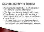 spartan journey to success