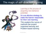the magic of self directed learning