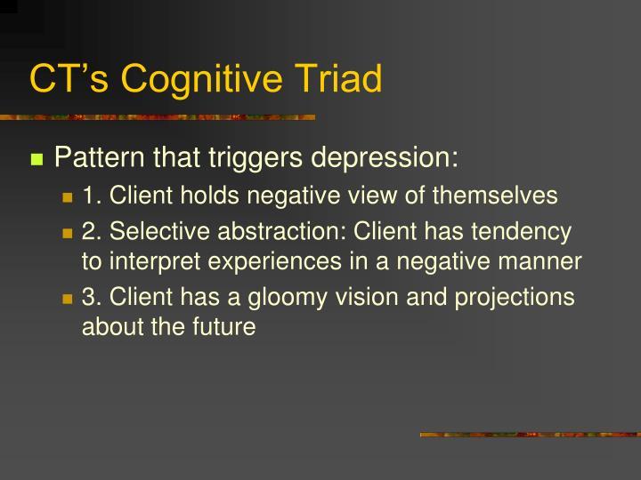 CT's Cognitive Triad