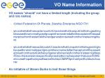 vo name information1