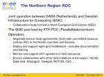 the northern region roc