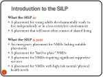 introduction to the silp1