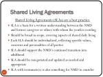 shared living agreements