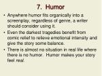 7 humor