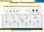 challenges of cloud computing