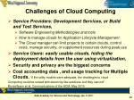 challenges of cloud computing1